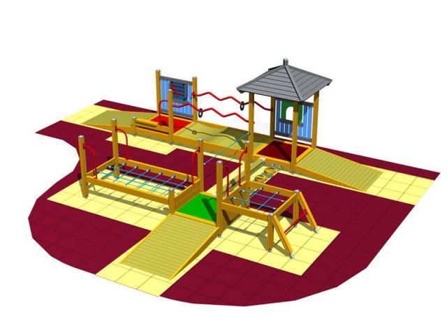 Игровые комплексы для детей на дачу 70